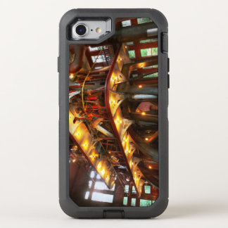 Steampunk - Allis does all the work OtterBox Defender iPhone 8/7 Case