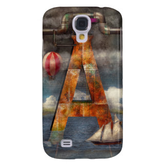Steampunk - Alphabet - A is for Adventure Galaxy S4 Cases