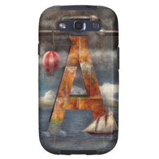 Steampunk - Alphabet - A is for Adventure Galaxy SIII Case