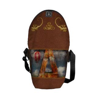 Steampunk - Alphabet - A is for Adventure Messenger Bag