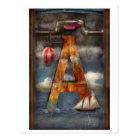 Steampunk - Alphabet - A is for Adventure Postcard