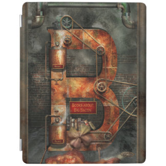 Steampunk - Alphabet - B is for Belts iPad Cover