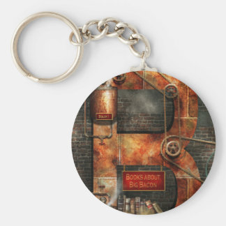 Steampunk - Alphabet - B is for Belts Keychain