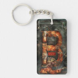 Steampunk - Alphabet - B is for Belts Key Chain