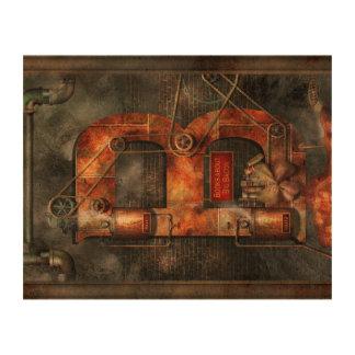 Steampunk - Alphabet - B is for Belts Cork Paper