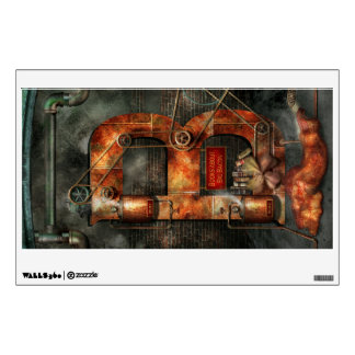 Steampunk - Alphabet - B is for Belts Wall Graphics