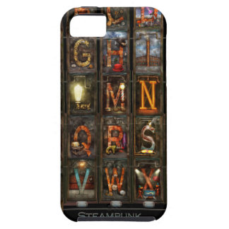 Steampunk - Alphabet - Complete Alphabet Case For iPhone 5/5S
