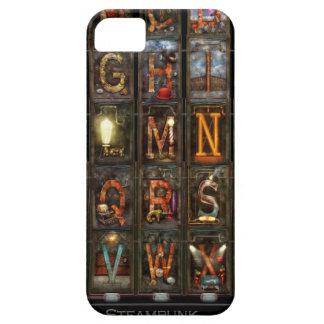 Steampunk - Alphabet - Complete Alphabet iPhone 5 Cover