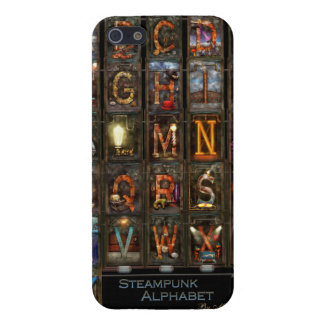 Steampunk - Alphabet - Complete Alphabet Cover For iPhone 5