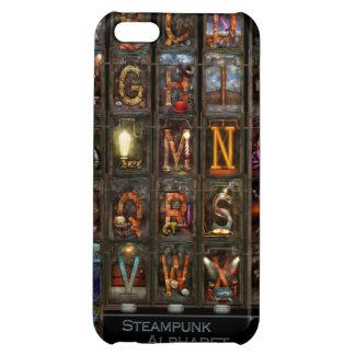 Steampunk - Alphabet - Complete Alphabet iPhone 5C Cases