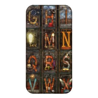 Steampunk - Alphabet - Complete Alphabet iPhone 4/4S Covers