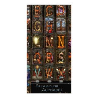 Steampunk - Alphabet - Complete Alphabet Photo Card