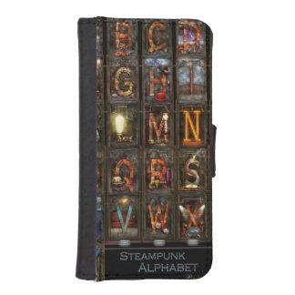 Steampunk - Alphabet - Complete Alphabet iPhone 5 Wallets