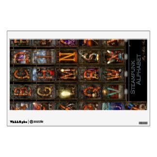 Steampunk - Alphabet - Complete Alphabet Wall Graphic