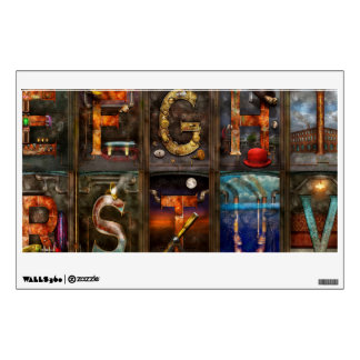 Steampunk - Alphabet - Complete Alphabet Wall Skins
