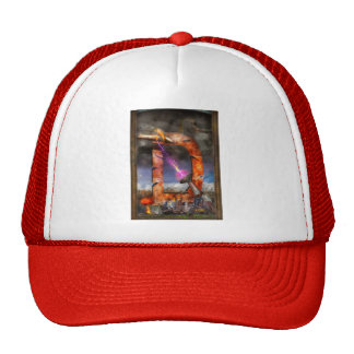 Steampunk - Alphabet - D is for Death Ray Mesh Hats