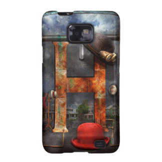 Steampunk - Alphabet - H is for Hats Galaxy SII Covers