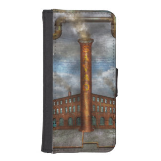 Steampunk - Alphabet - I is for Industry iPhone 5 Wallets