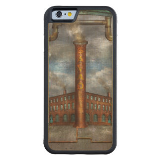 Steampunk - Alphabet - I is for Industry Carved® Maple iPhone 6 Bumper