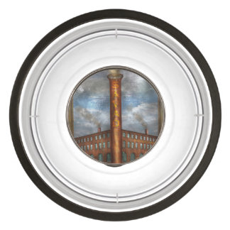 Steampunk - Alphabet - I is for Industry Pet Bowl