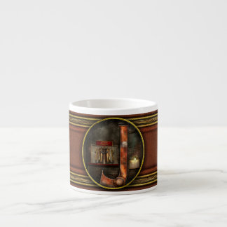 Steampunk - Alphabet - J is for Jet Pack Espresso Cup