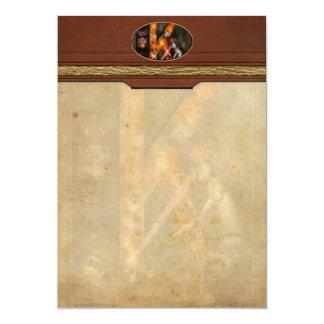 Steampunk - Alphabet - K is for Killer Robots Card