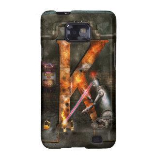 Steampunk - Alphabet - K is for Killer Robots Samsung Galaxy S2 Cases