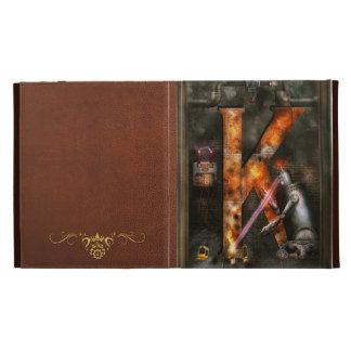 Steampunk - Alphabet - K is for Killer Robots iPad Folio Covers