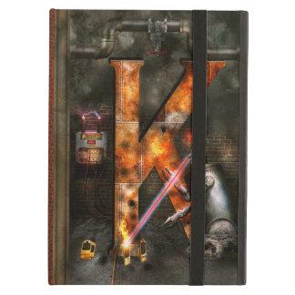 Steampunk - Alphabet - K is for Killer Robots iPad Air Cover