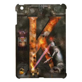 Steampunk - Alphabet - K is for Killer Robots iPad Mini Covers