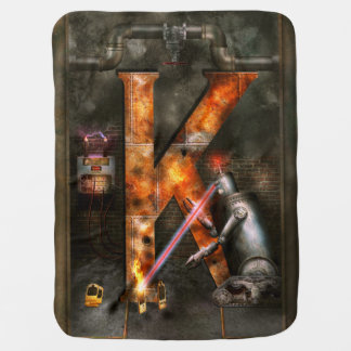 Steampunk - Alphabet - K is for Killer Robots Receiving Blankets