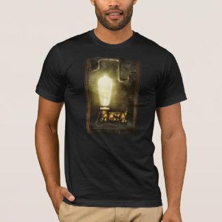 Steampunk - Alphabet - L is for Light Bulb T-Shirt