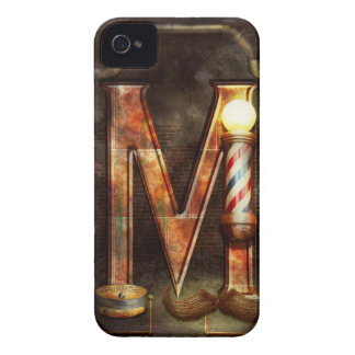 Steampunk - Alphabet - M is for Mustache Case-Mate iPhone 4 Case