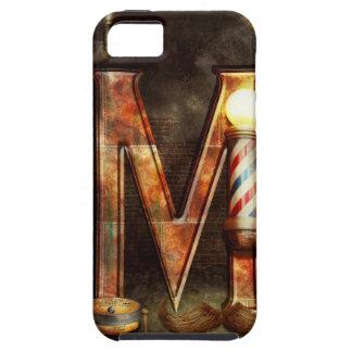 Steampunk - Alphabet - M is for Mustache iPhone 5 Case