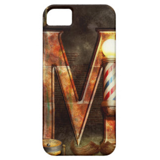 Steampunk - Alphabet - M is for Mustache iPhone 5 Covers