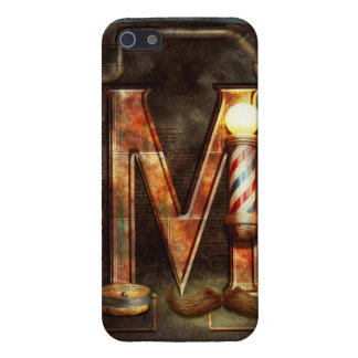 Steampunk - Alphabet - M is for Mustache Case For iPhone 5