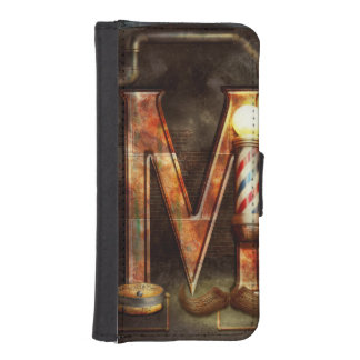 Steampunk - Alphabet - M is for Mustache Phone Wallets