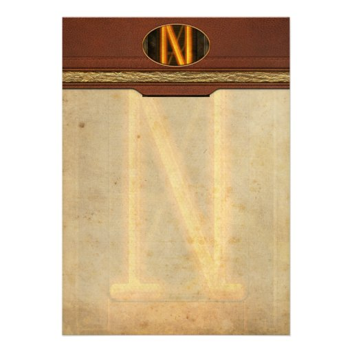 Steampunk - Alphabet - N is for Nixie Cards