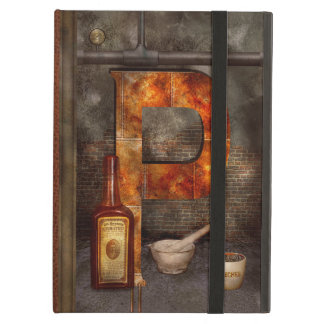Steampunk - Alphabet - P is for Pharmacy iPad Air Cover