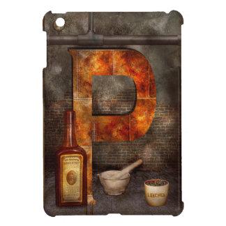 Steampunk - Alphabet - P is for Pharmacy iPad Mini Cover