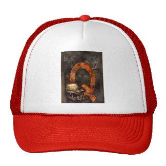 Steampunk - Alphabet - Q is for Qwerty Trucker Hat