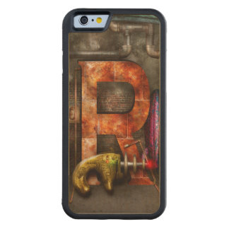 Steampunk - Alphabet - R is for Ray Gun Carved® Maple iPhone 6 Bumper