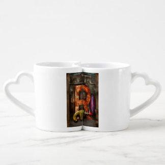 Steampunk - Alphabet - R is for Ray Gun Coffee Mug Set