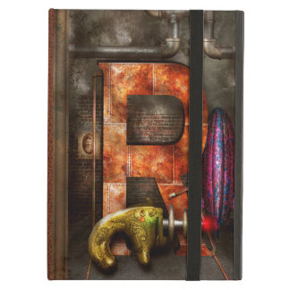 Steampunk - Alphabet - R is for Ray Gun iPad Air Covers
