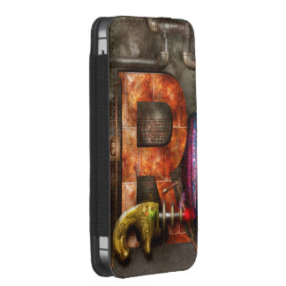 Steampunk - Alphabet - R is for Ray Gun iPhone SE/5/5s/5c Pouch