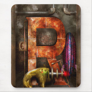 Steampunk - Alphabet - R is for Ray Gun Mouse Pad