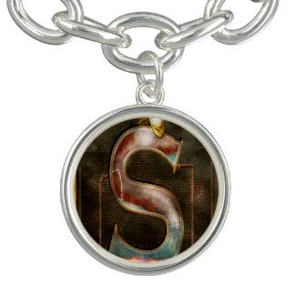 Steampunk - Alphabet - S is for Steam Bracelet