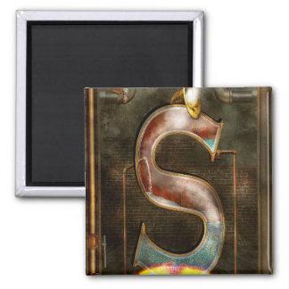 Steampunk - Alphabet - S is for Steam Magnet