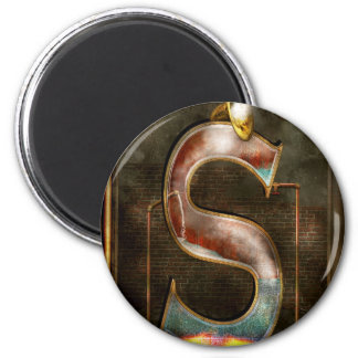 Steampunk - Alphabet - S is for Steam Magnets