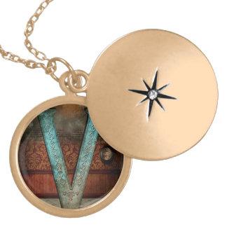 Steampunk - Alphabet - V is for Victorian Lockets